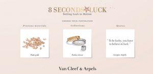 Van Cleef & Arpels : 8 seconds of luck