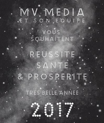 Meilleurs voeux 2017 !!
