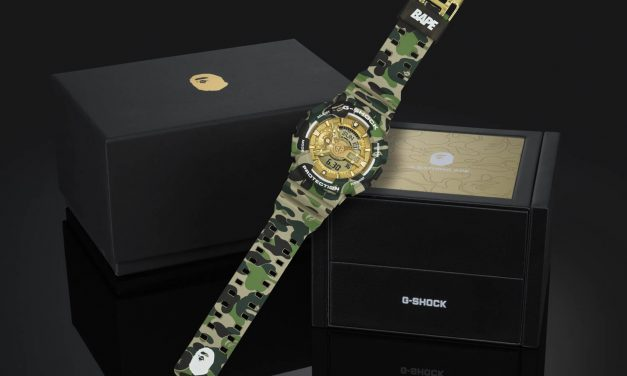 Collaboration G-SHOCK x A BATHING APE®