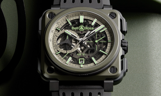 BELL & ROSS dévoile sa nouvelle BR-X1 MILITARY