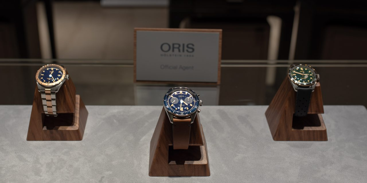 ORIS DIVERS SIXTY-FIVE CHRONOGRAPH – BUCHERER BLUE EDITIONS