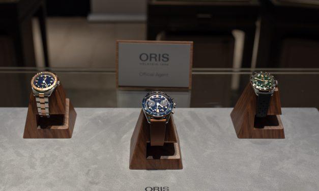 ORIS DIVERS SIXTY-FIVE CHRONOGRAPH – BUCHERER BLUE EDITIONS