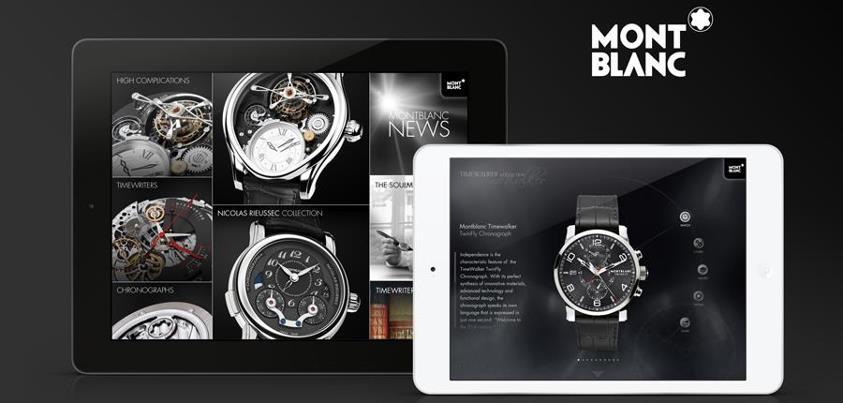Essayez virtuellement une montre avec Montblanc Timepieces