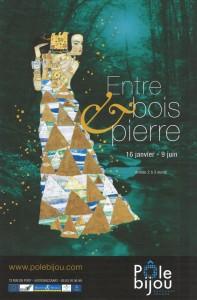 """Exposition """"Entre bois et pierre""""  à la galerie Pôle Bijou"""