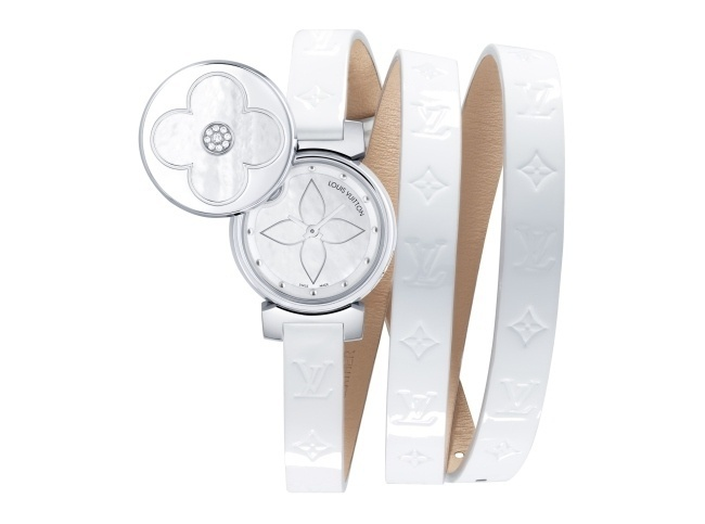 Louis Vuitton : Tambour Bijou Secret White