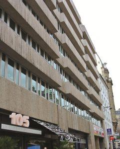 Siège de l'Union syndicale à Paris
