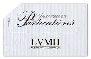 LVMH renouvelle ses Journées Particulières