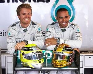 Lewis Hamilton et Nico Rosberg : les nouveaux visages d'IWC Schaffhausen