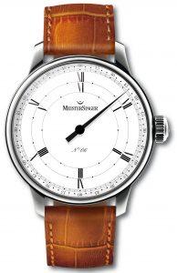 MeisterSinger présente la montre Rodella de six heures