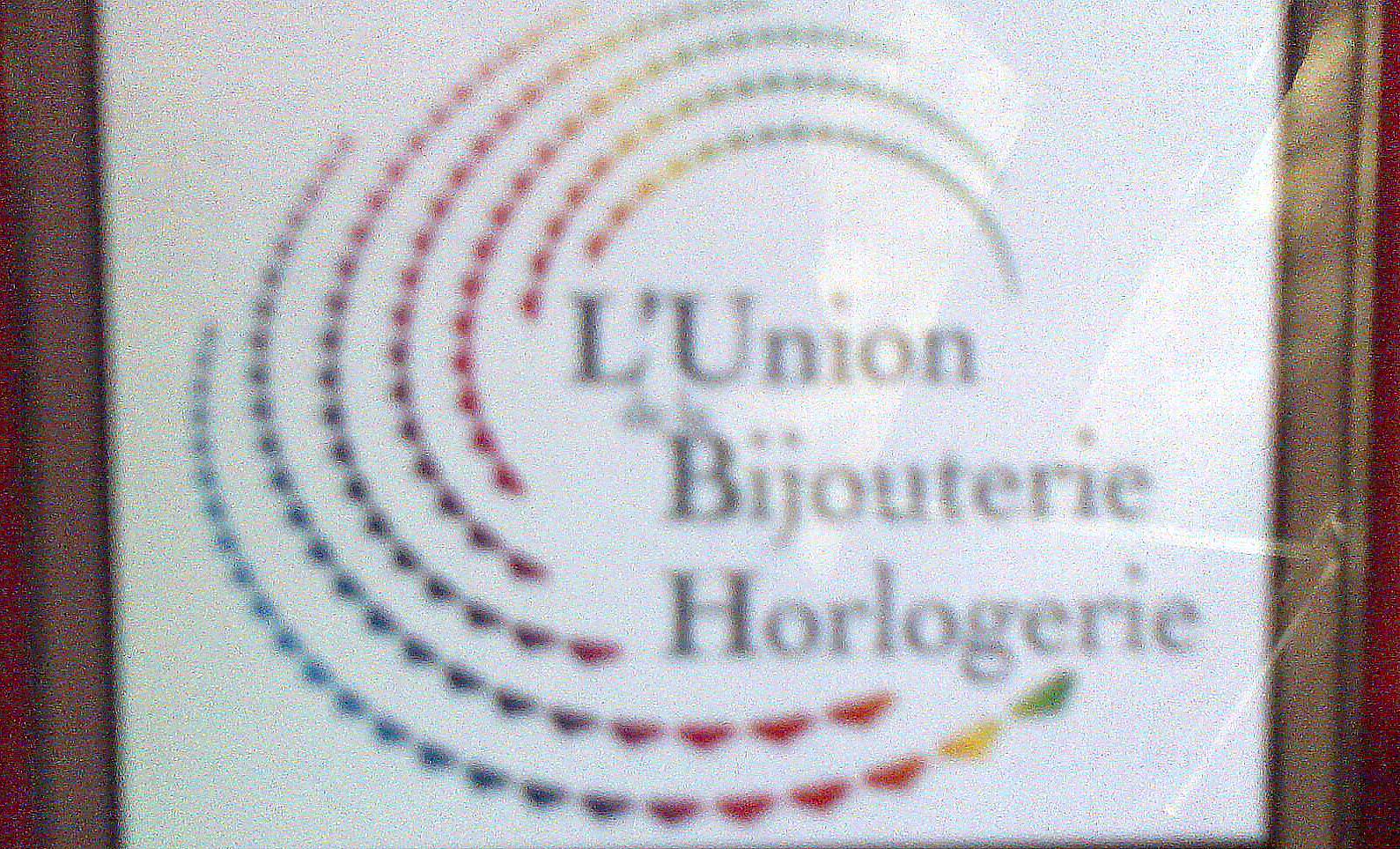 logo l'union de la bijouterie horlogerie