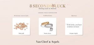 Van Cleef & Arpels : 8 seconds of luck
