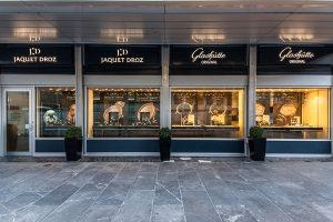 Glashütte Original et Jaquet Droz ouvrent une boutique à Genève