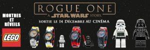 HORLOGERIE – LAVAL EUROPE : MONTRES ET RÉVEILS LEGO® – STAR WARS™