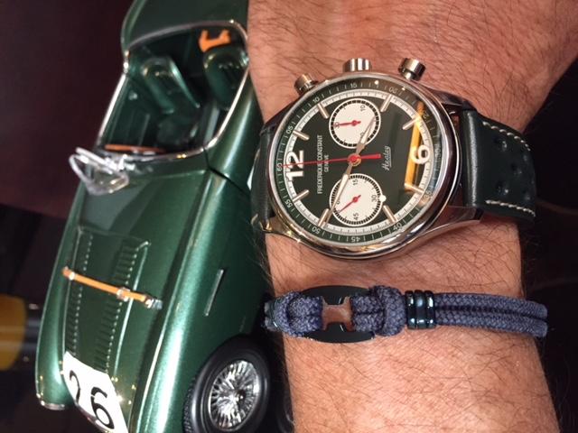 Vintage Rally Healey Chronographe Automatique