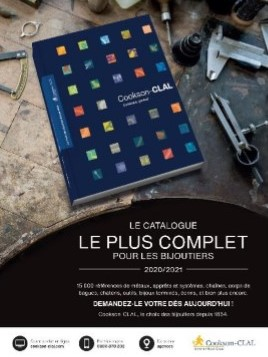 LANCEMENT DU CATALOGUE COOKSON-CLAL 2020-2021
