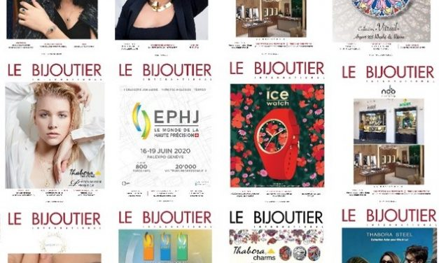 Magazines LE BIJOUTIER INTERNATIONAL & LE GUIDE DU BIJOU FANTAISIE : Retour sur les couvertures 2019
