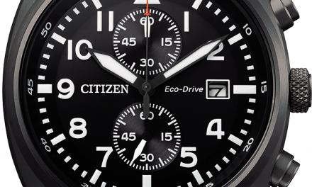 La maison horlogère CITIZEN présente son nouveau modèle, l'Eco-Drive Pilot Chronograph