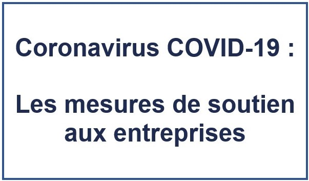 CORONAVIRUS COVID 19 – INFORMATIONS – Prêt garanti par l'État, quelles démarches pour en bénéficier ?