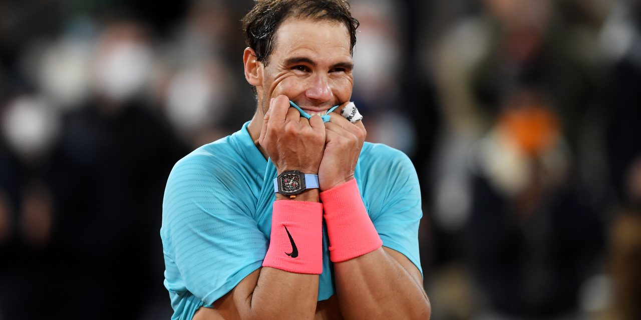 RAFA…IMPLACABLE avec la nouvelle RICHARD MILLE 27-04 Tourbillon