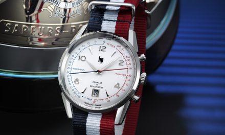 Montre LIP COURAGE, une montre qui salue le dévouement des sapeurs-pompiers de France