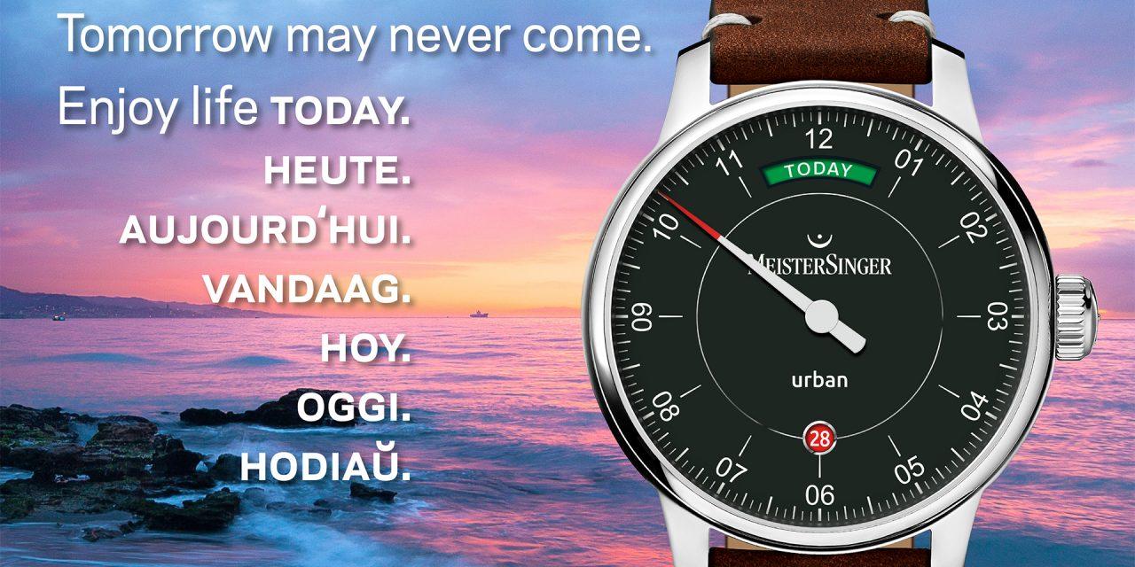 L'horloger MEISTERSINGER vous invite à découvrir une nouvelle série limitée : Urban Day Date « Edition Today »
