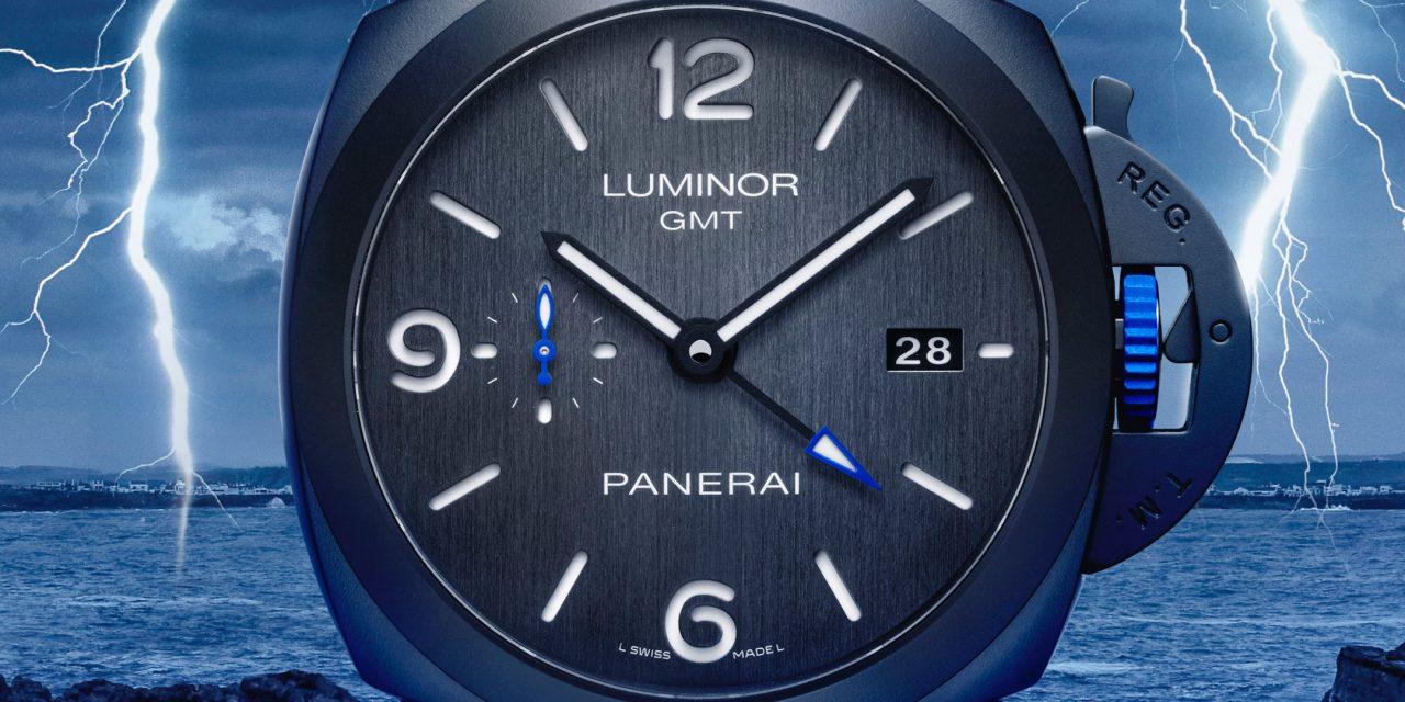 PANERAI LUMINOR GMT BUCHERER BLUE – UNE EXTRAVAGANCE D'ANNIVERSAIRE EN BLEU