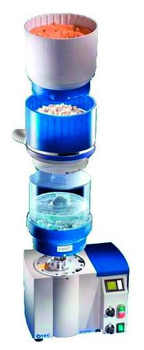 Une machine OTEC 3 en 1 pour le polissage en bijouterie