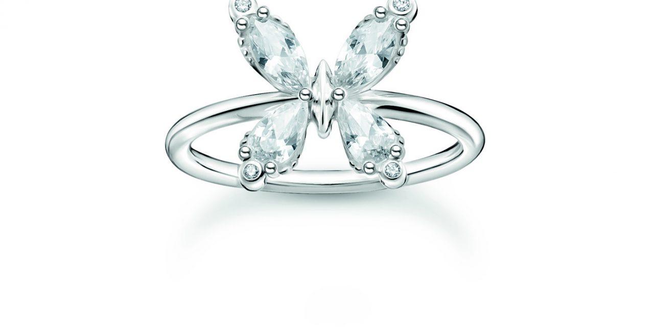 Une Saint-Valentin sous le signe des papillons et de l'amour avec les bijoux THOMAS SABO