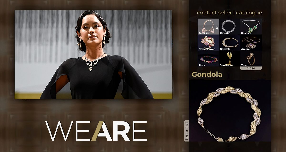 """"""" WE ARE JEWELLERY """" sera une manifestation placée sous le signe du cinéma s'agissant des collections Made in Italy."""