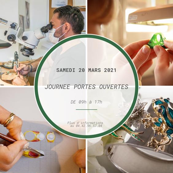 Ecole Provençale de joaillerie : Journée Portes Ouvertes le samedi 20 mars 2021