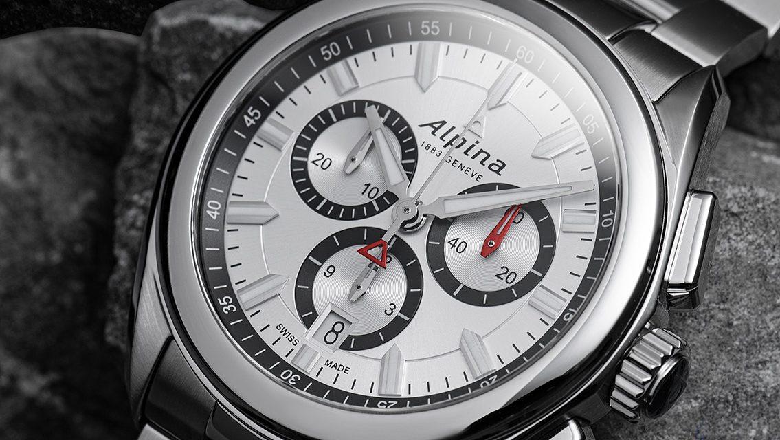 Le modèle ALPINER QUARTZ CHRONOGRAPHE par la Manufacture horlogère suisse ALPINA