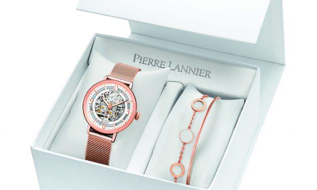 Variations sur les coffrets dédiés aux Fêtes de fin d'année par l'horloger français PIERRE LANNIER…