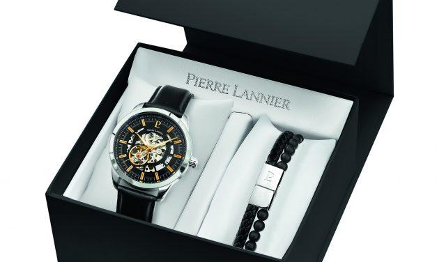 Autres variations sur les coffrets dédiés aux Fêtes de fin d'année par l'horloger français PIERRE LANNIER…